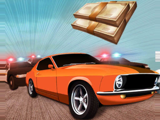 Desert Robbery Car Chase